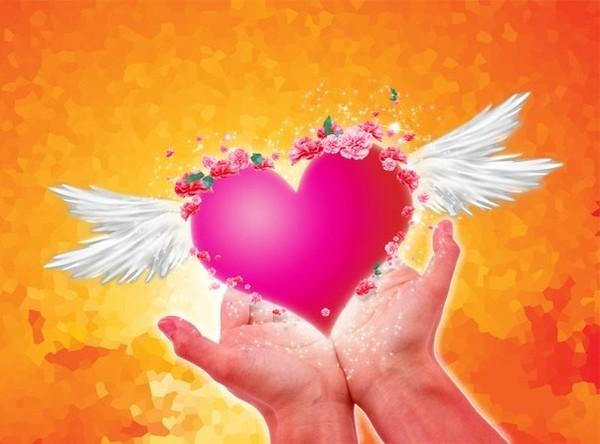 тему с сердце рисунок на добротой в